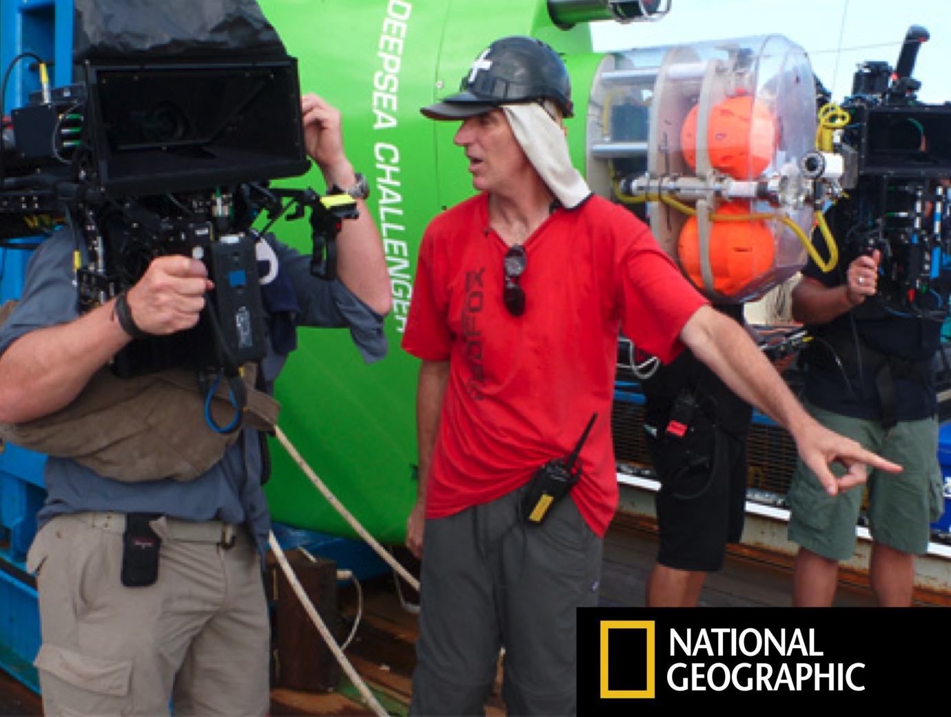 "National Geographic: Creating the Expedition ""Memory"""